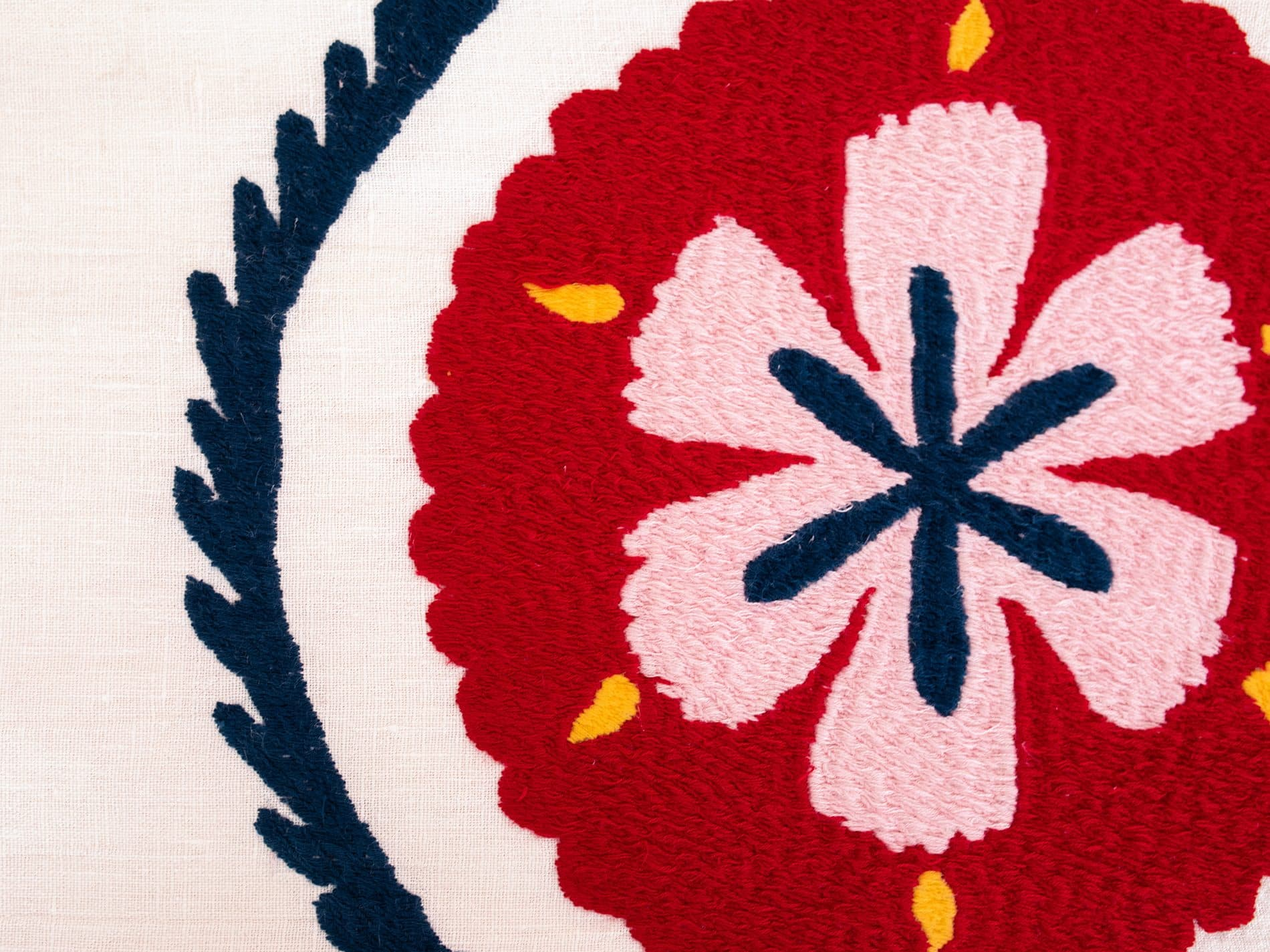Parure de lit ethnique Bahor details