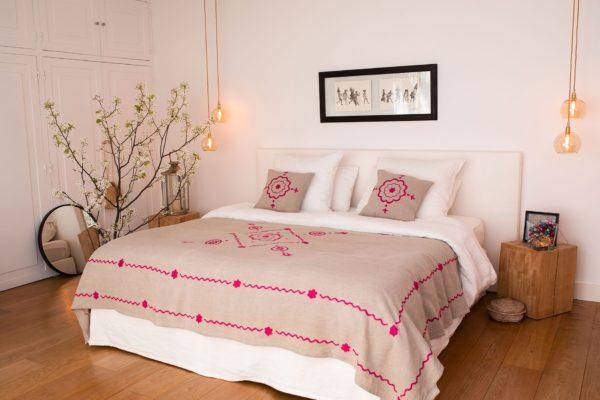 Déco chambre cosy romantique Niyat