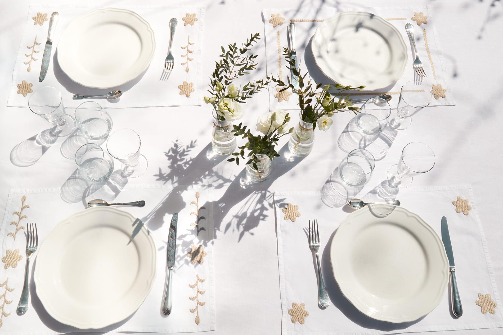 Sets de table jardin
