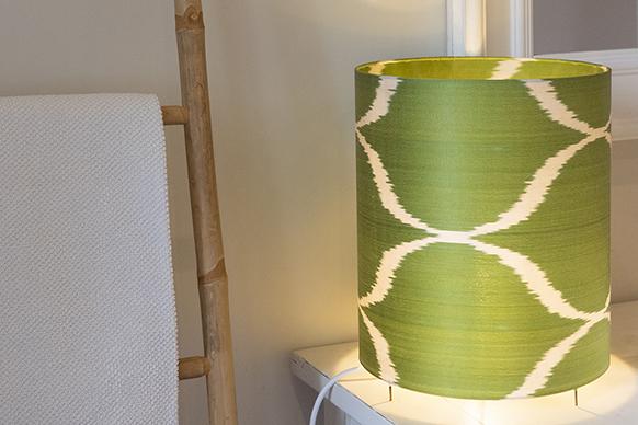 lampe a poser vert-anis